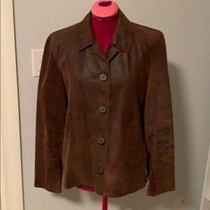 NWOT J. Jill Leather Jacket